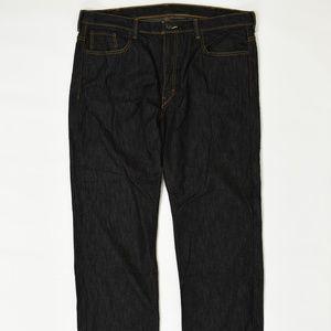 Levis Regular  Black 40x32 569 Cotton Solid